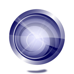 blau-weißer internet button