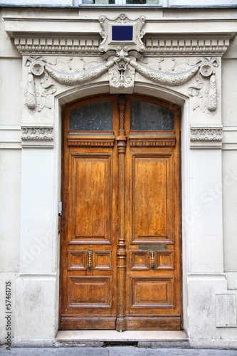 Paris, France - old door