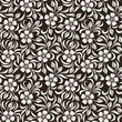 Seamless vintage floral pattern. Vector illustration.