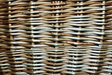 Abstract background from the weaved wooden rods