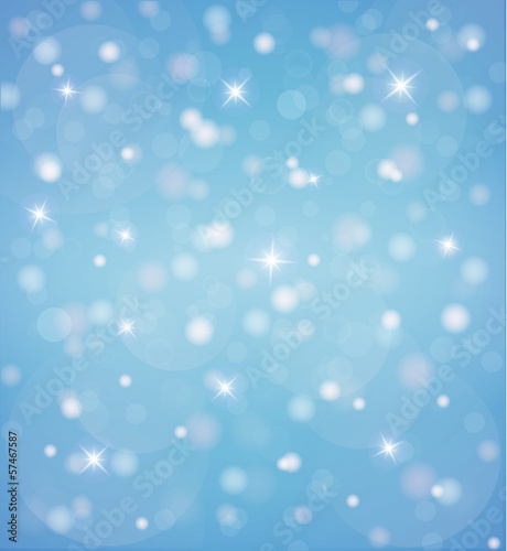 Blue shining background