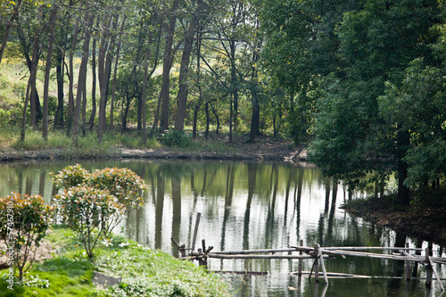 canvas print picture Herbst in Sheshan