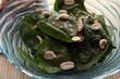 Spinat mit Erdnüsse