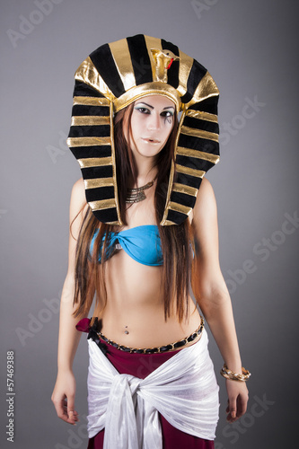 portrait of cleopatra queen of egypt