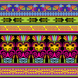seamless animals mexican background