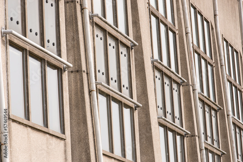Architectonic detail of the Radio Kootwijk building