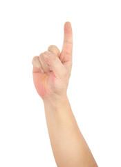 A finger