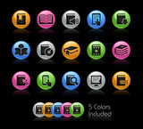 Book Icons - The EPS file includes 5 color versions
