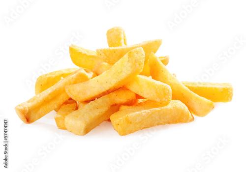 Fried potato wedges - 57474147