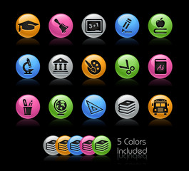Education -The EPS includes 5 color versions in separated layers