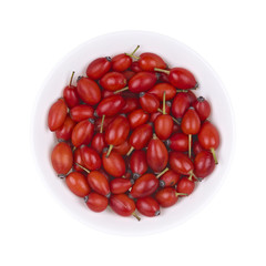 Rosehips in bowl