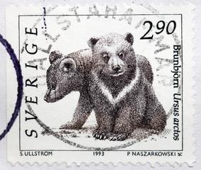 Bear Cubs Stamp