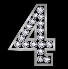 4 数字 ナンバー