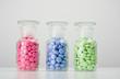 Glasbehälter mit Tabletten 04