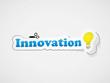 """Etiquette """"INNOVATION"""" (idées solutions imagination créativité)"""