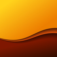 Abstract red wave background with stripes