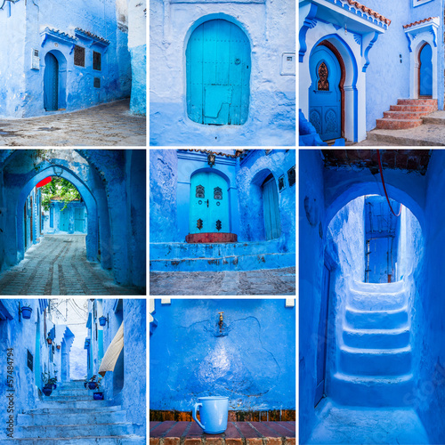 Chefchaouen collage