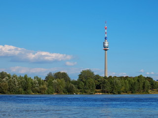 Danube Tower in Vienna - Donauturm Wien