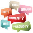 Speechbubbles Questions France Retro