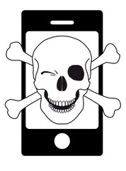 Pirate smartphone humour