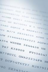 Printed codes