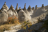 Love valley in Cappadocia Turkey
