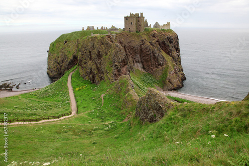 Dunnottar Castle, Scotland, UK