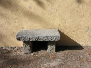 panchina di granito