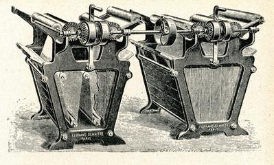 Jigger - fabric dyeing machine