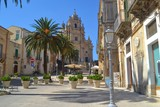 Town Square of Ragusa Ibla Sicily Italy