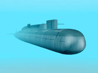 Russian Nuclear Submarine
