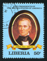 President of the United States James K. Polk