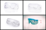 collection of personal safety glasses