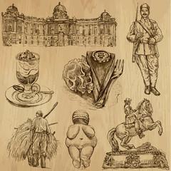 Traveling series: AUSTRIA (set no.4)