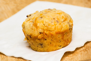 Sausage and Cheese Breakfast Muffin