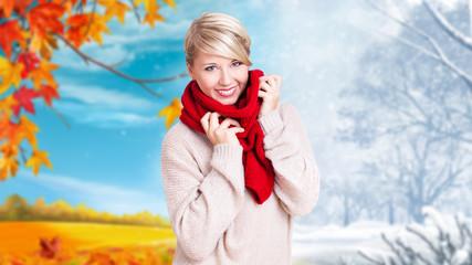 Herbst-Winter-Übergang