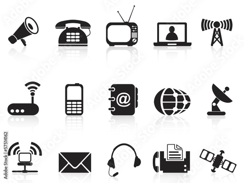 telecommunication icons