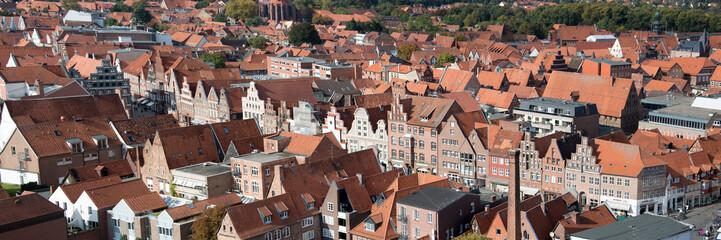 Lüneburg, Luftaufnahme