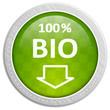 Button grün - 100 % Bio