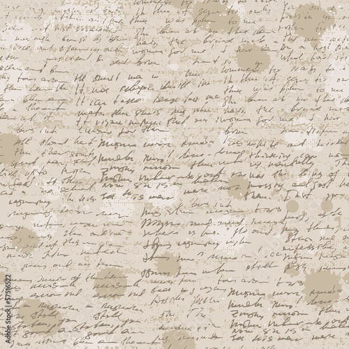 Abstract old grunge vintage background with hand write.
