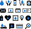 Conceptual Drop icons