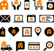 Conceptual House icons