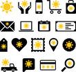 Conceptual Sun icons