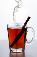 Tea with cinnamon d