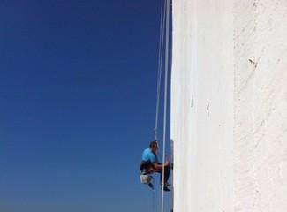 Building repair man