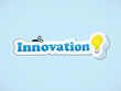 """INNOVATION"" Sticker (business creativity ideas design)"