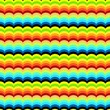 Colored Waves seamless Pattern