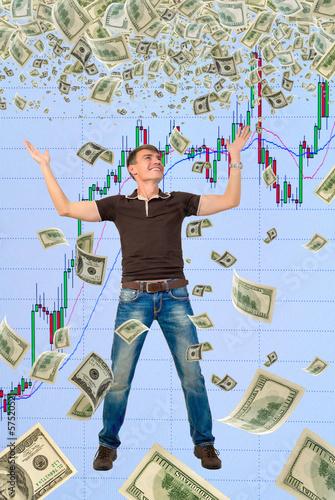 Happy trader.