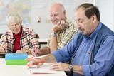 Fototapety Bildung für Rentner