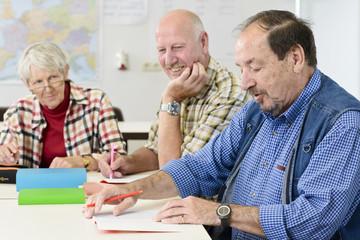 Bildung für Rentner
